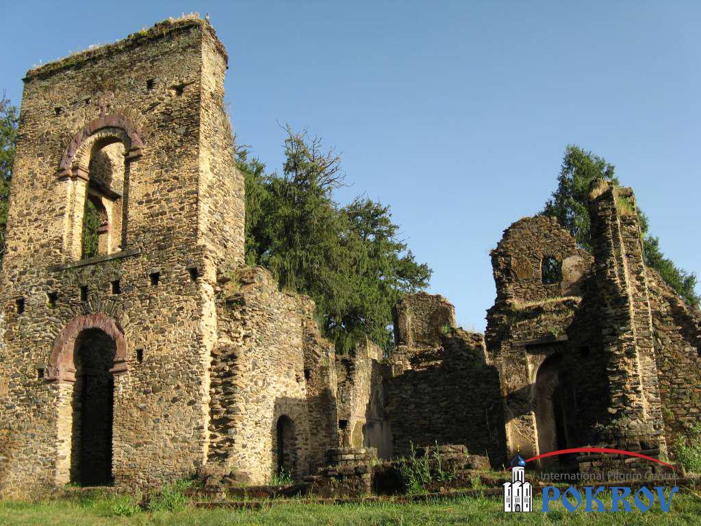 Гондар - дворцовый комплекс императора Фасилидаса XVIII в.