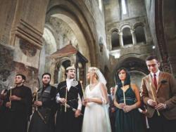 Венчание в Грузии в храме Светицховели